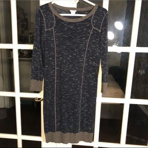 Club Monaco Space-Dyed Dress